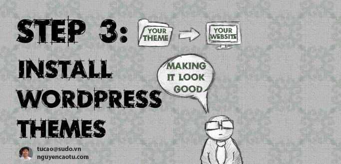 Cài đặt themes cho wordpress