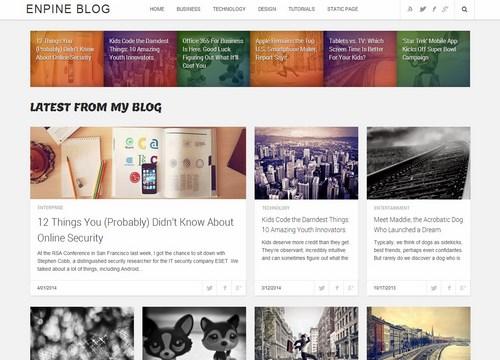 Download template blogspot