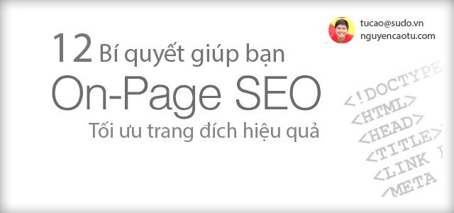 OnPage là gì? Làm sao để tối ưu On-Page