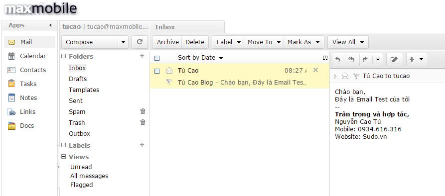 Kiểm tra việc gửi email có thành công hay không?