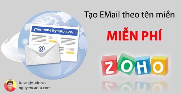 Tạo email theo tên miền
