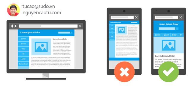 Đảm bảo khách truy cập có thể có trải nghiệm tốt trên trang web của bạn khi họ truy cập từ thiết bị di động.
