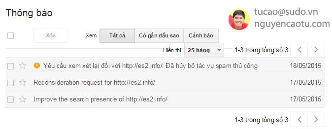 Case Study: Hủy bỏ Spam tác vụ thủ công