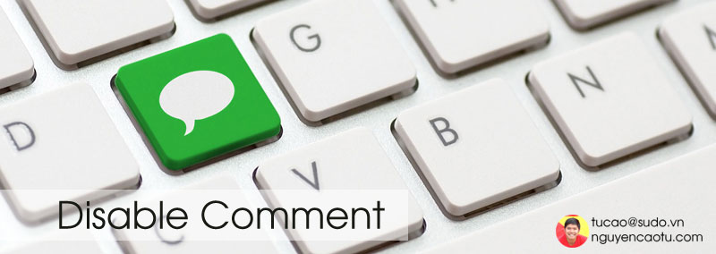 Disable comment wordpress