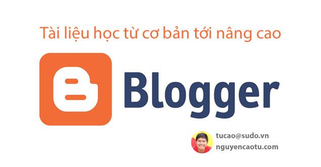 Tài liệu Blogspot, Blogger cơ bản và nâng cao