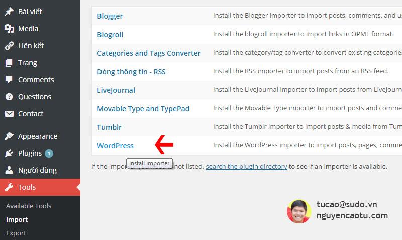 Cài đặt tính năng khôi phục bài viết của WordPress