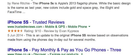 kk Star Ratings hiển thị sao trên Google