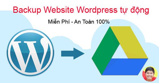 Backup Website Wordpress tự động