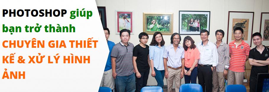 Khóa học Photoshop tốt nhất tại Hà Nội