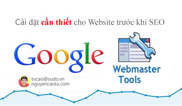 Cài đặt Google Webmaster Tools cho Website của bạn