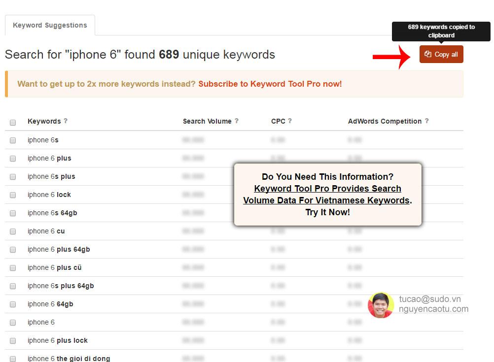 Danh sách từ khóa liên quan tới iPhone 6