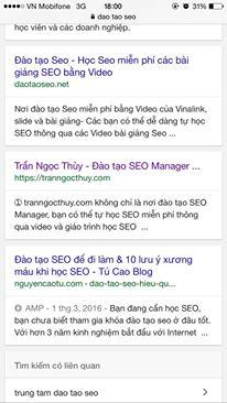 AMP trên di động giúp tăng tốc độ người dùng đọc Website