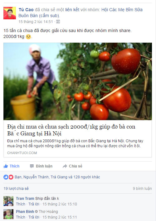 Cách bán hàng trực tuyến trên Group của Facebook