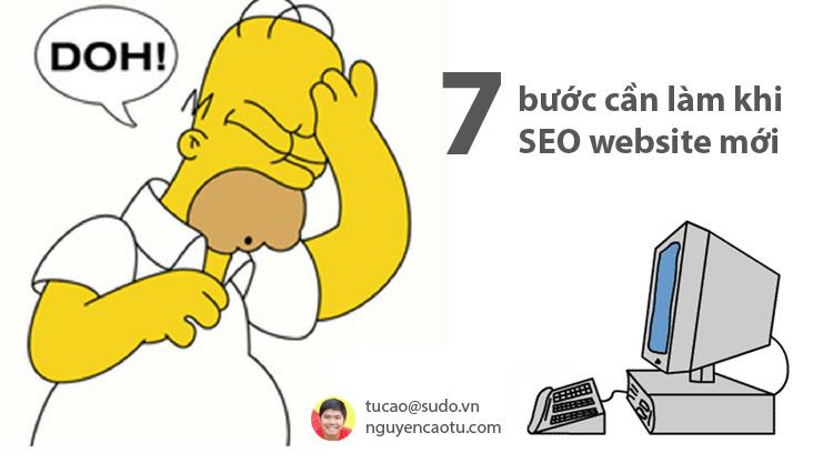 7 Bước cần làm trước khi bạn SEO một Website mới