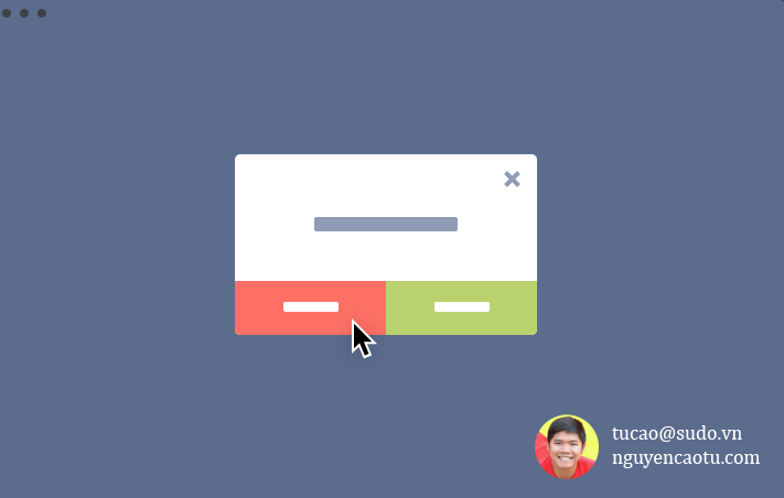 Share code tạo popup hiển thị 1 lần trên Website BLogspot, Wordpress, Website tự code