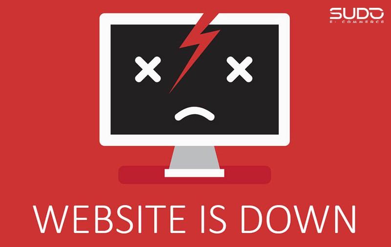 Dịch vụ Website bị gián đoạn