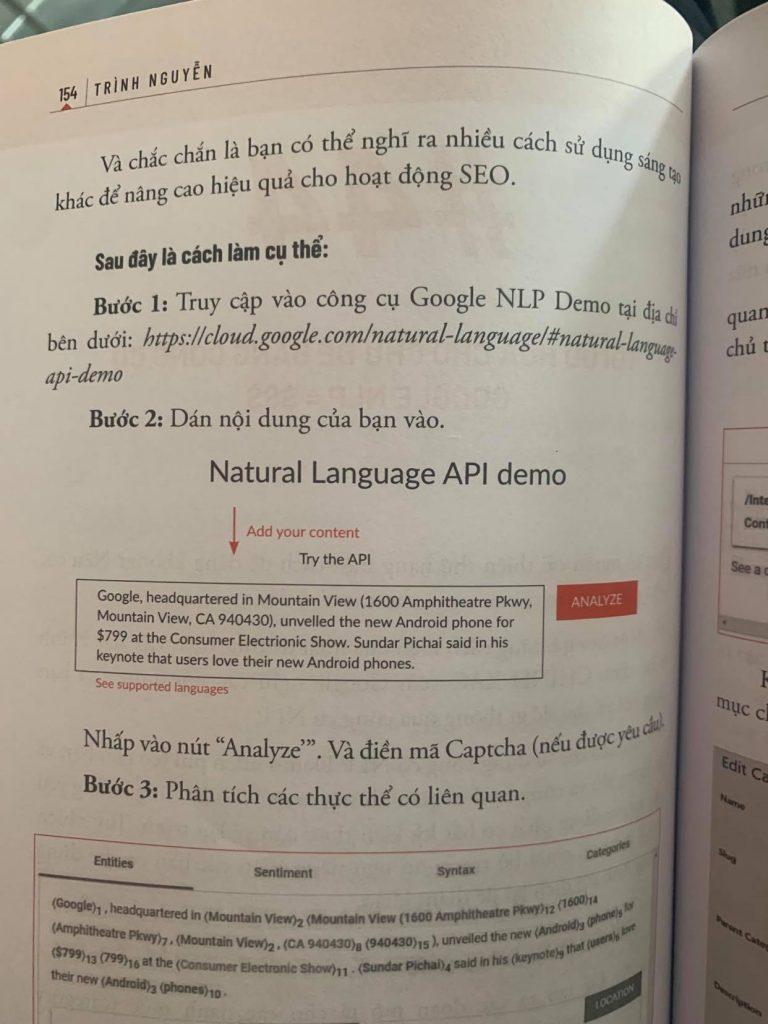 Natural Language API DEMO