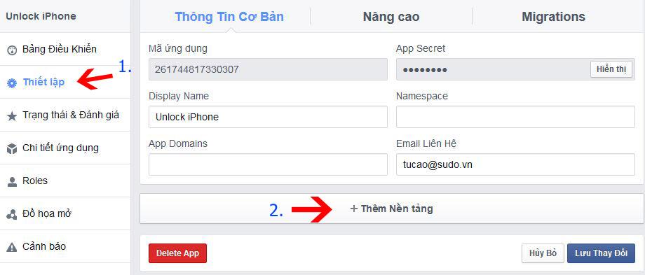 thiet-lap-ung-dung-facebook