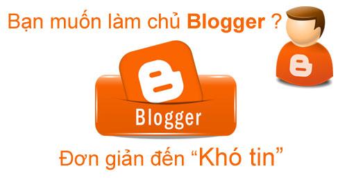 Thủ thuật Blogger