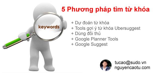 Tìm từ khóa Keywords